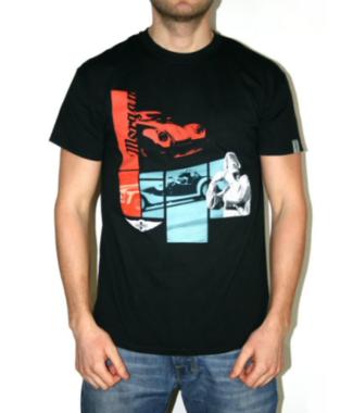 T-shirt Aero8 Sort