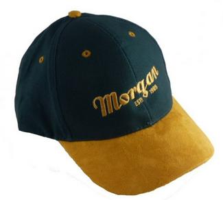Morgan Script Baseball Cap – Grøn/lysebrun